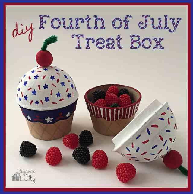 DIY Fourth of July Treat Box