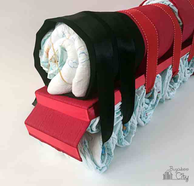Harry Potter Hogwarts Express Diaper Cake - Train Tutorial