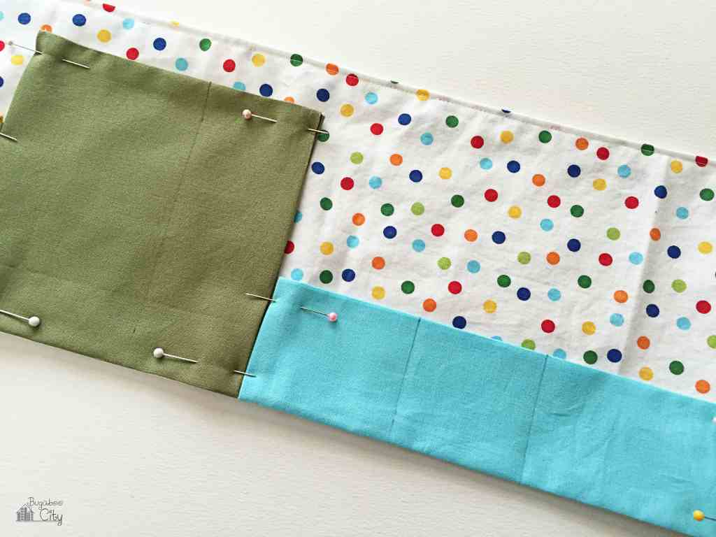 DIY Toddler Calendar - Fabric Magnet Holder