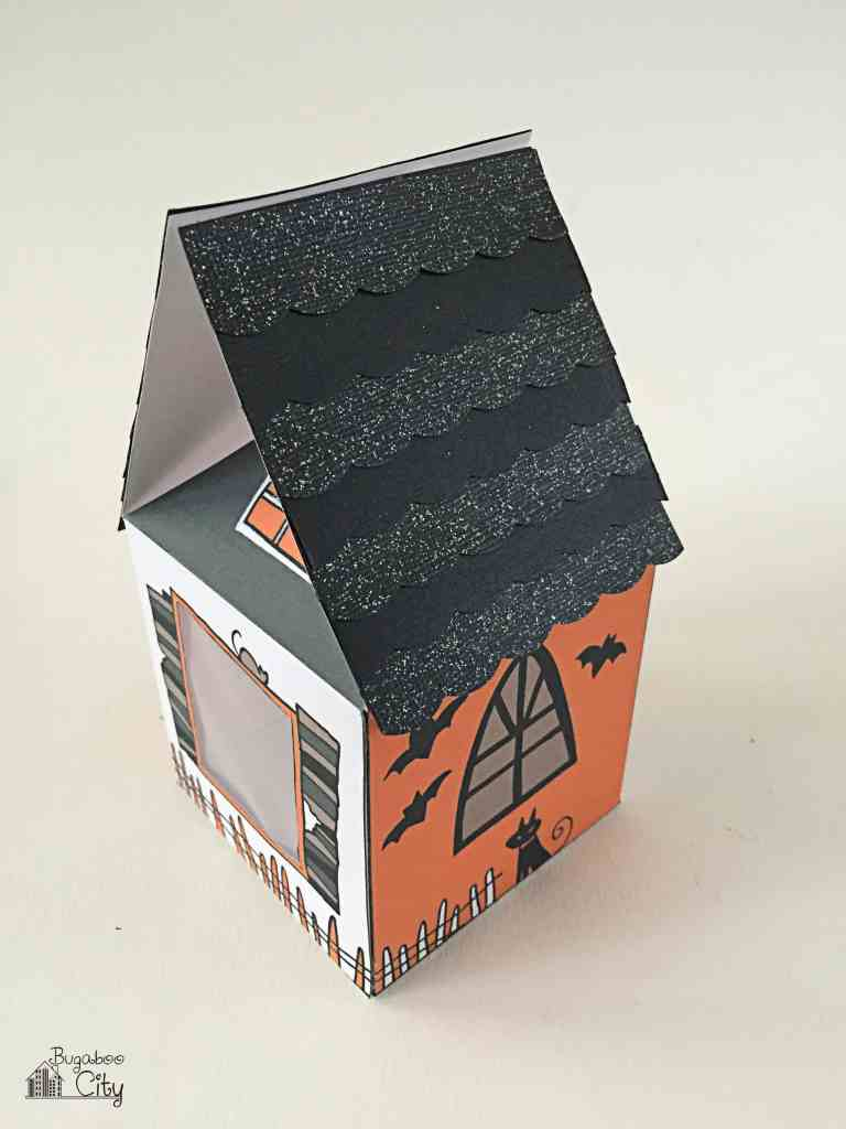 Halloween Treat Box Haunted House