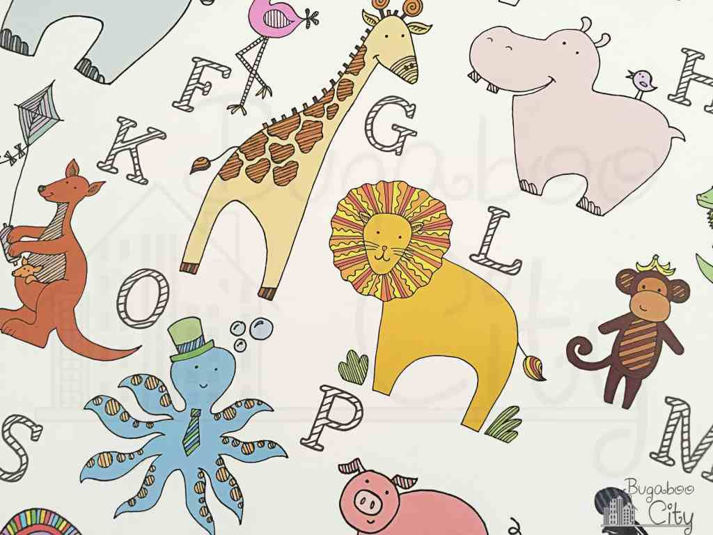 ABC Animal Nursery Artwork 1