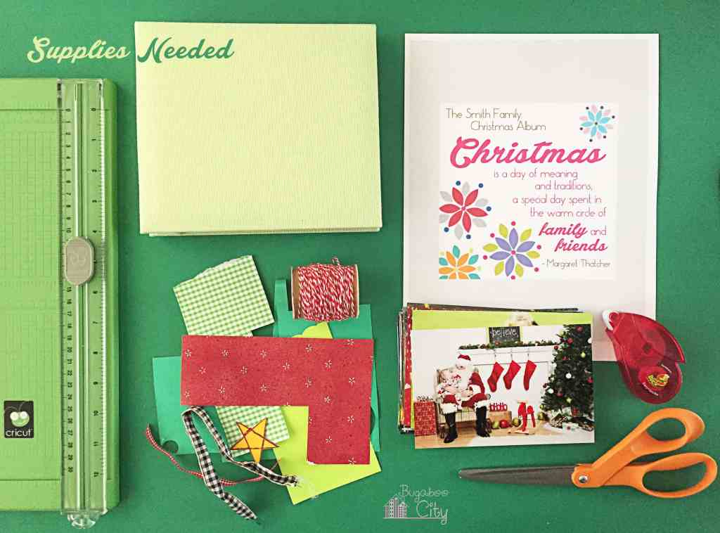 Christmas Family Scrapbook 8