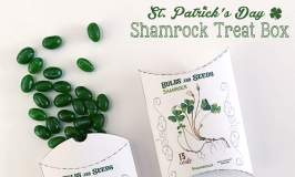 St. Patrick's Day Shamrock Treat Boxes
