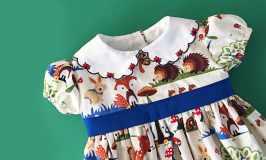 Woodland Party Dress
