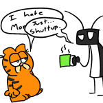 With apologies to Jim Davis. From Nick.