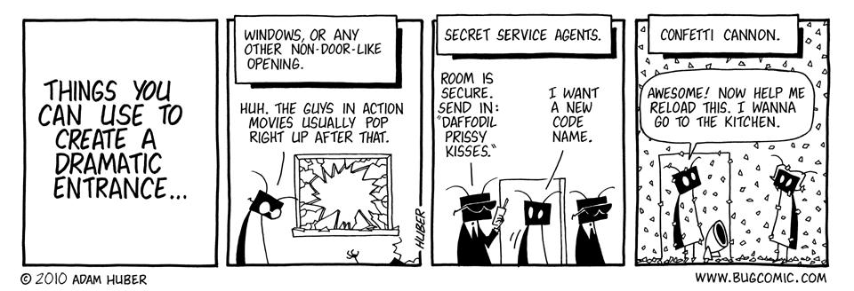 An Entrancing Entrance