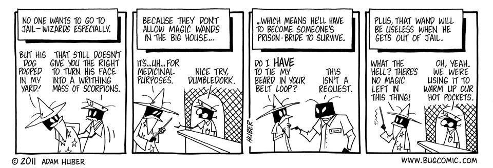 Sorcerer in the Slammer