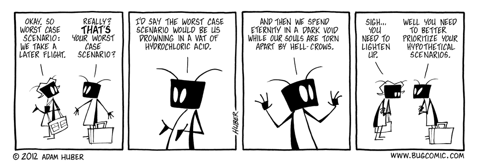 The Slightly Inconvenient Case Scenario