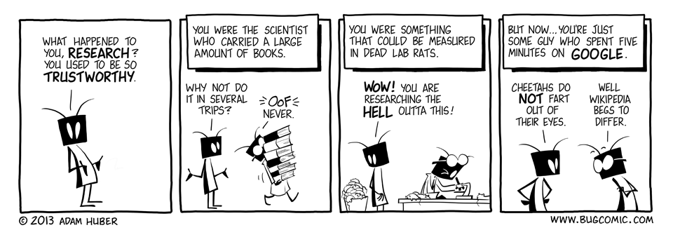 In Search of Research