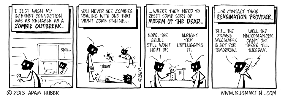 Wi-Fi of the Living Dead