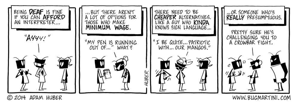 Talk is Cheap