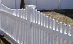 classic picket fence longevity white vinyl