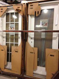 Andersen Surplus Exterior frenchwood Doors discount overstock sale