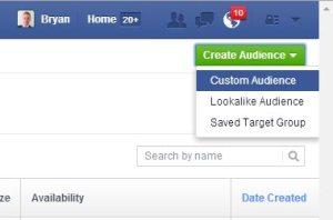 Facebook Retargeting Custom Audience