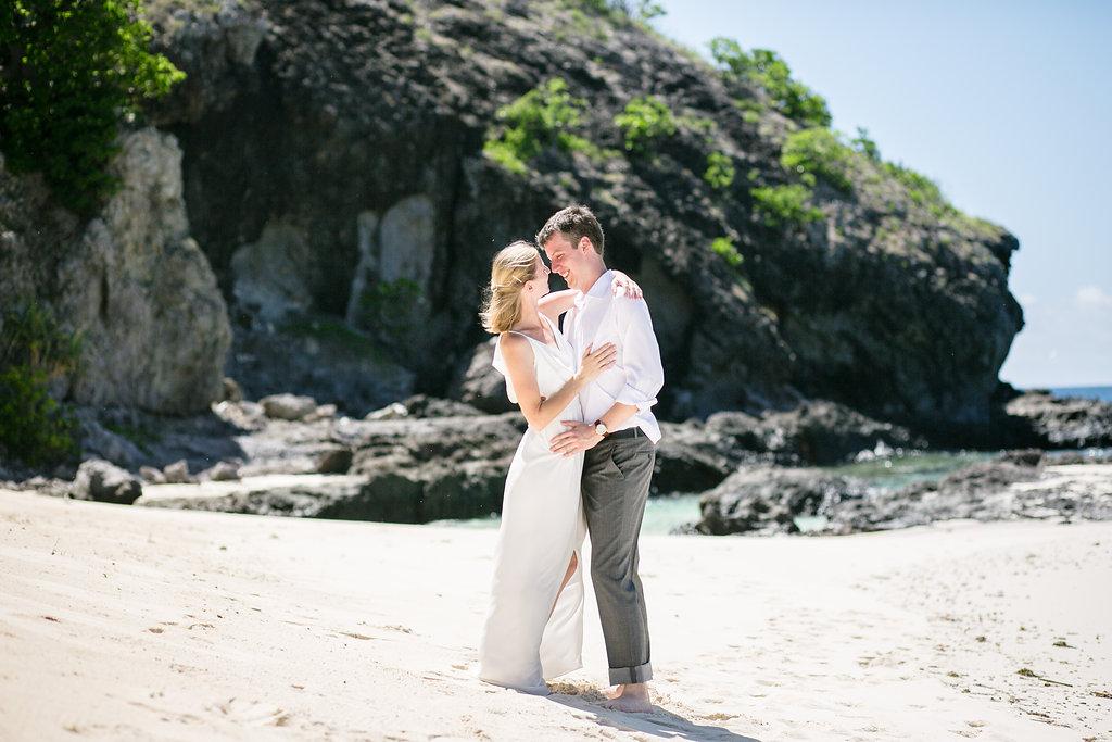 Cameron & Erin — Matamanoa Fiji Wedding