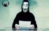 """Членове на Анонимните - международната организация от опитни програмисти публикуваха обръщение в YouTube на английски и френски език, в което ясно заявяват, че предприемат нова кампания срещу джихадистите и обявяват война """"на вас, терористите"""". Гласът на говорещия и в двата клипа, и на Белгийския, и на Австралийския клон на ANONYMOUS е обработен, а лицето му традиционно е с маската на Гай Фокс - символ на организацията, която доминира във виртуалното пространство през последните години. Foto credit: YouTube, ANONYMOUS"""