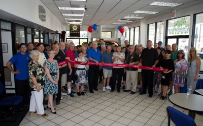 Ribbon Cutting for Swanty's 25-Year Anniversary