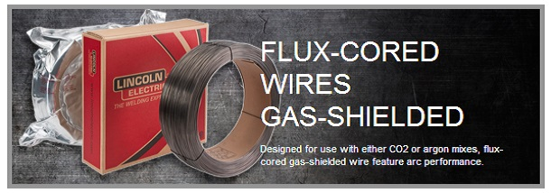 Flux-Cored Wires - Gas-Shielded