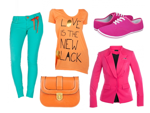 colorblocking Frühlingstrends mit Def Shop