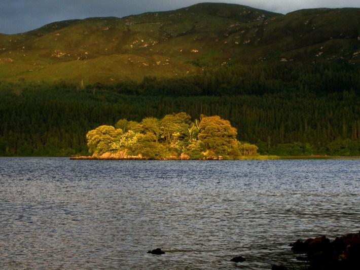 Lake isle of Innisfree..