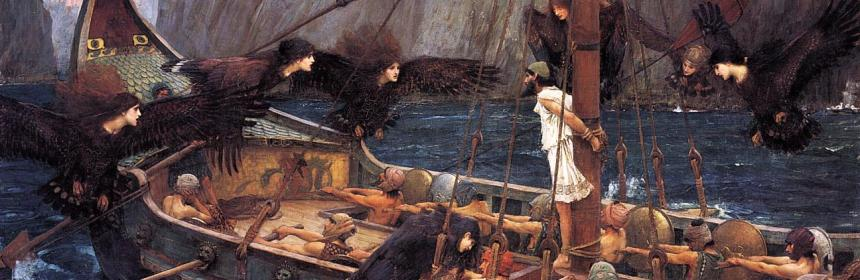 Ulysses and the Sirens (1891) by John William Waterhouse