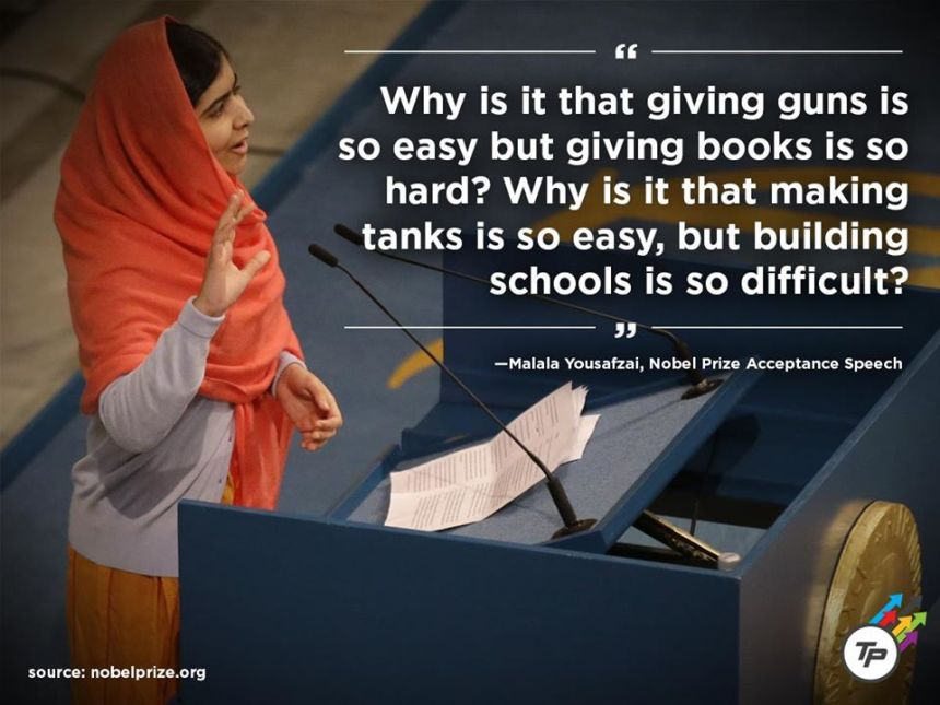 Malal Yousafzai