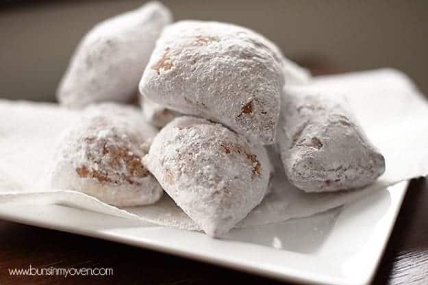 recipe for beignets