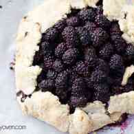Honey Cinnamon Blackberry Crostata recipe