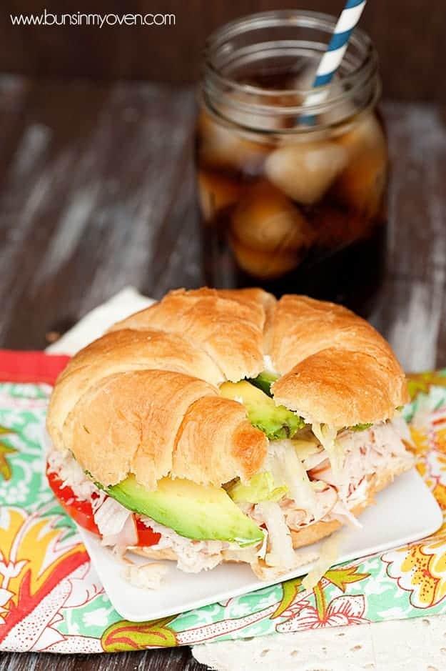 The Gobbler - a unique recipe for a turkey sandwich!