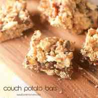 couch potato bars