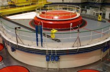 Mochovce, il reattore nucleare (foto seas.sk)