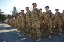 soldati slovacchi pronti per l'Afghanistan