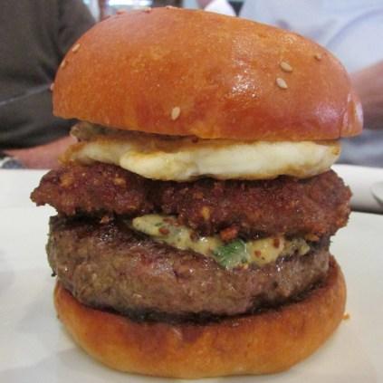 Scotch Egg Burger