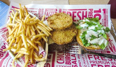Smashburger's Dixie Burger