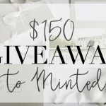 $150 Giveaway to Minted!