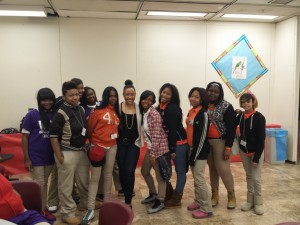 Julian High School  W.O.W. ladies. I love how they're impacting these young ladies' lives.