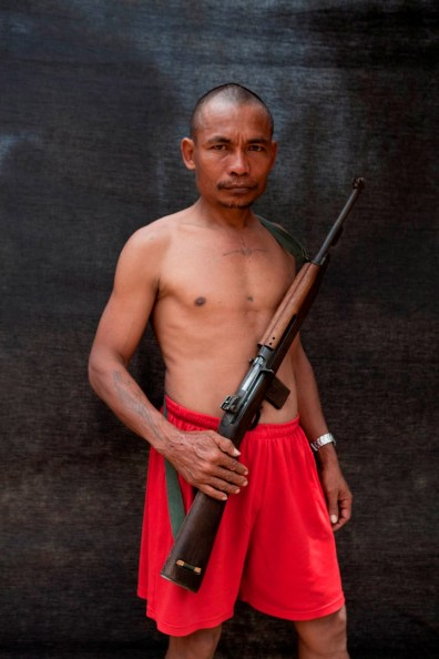 Freedom fighter of Kawtoolie