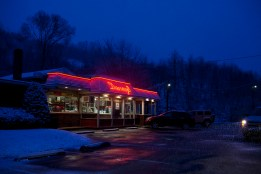 Danny's Softee Freeze on the outskirts of Ashland, Pennsylvania on Wednesday, February 8, 2012.
