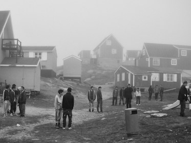 Tasiilaq, 2009. Life for many of east greenland's youth is a mix of boredom, violence, divided families and a troubled quest for an identity that balances the old, hunting lifestyle values of their grandparents, and the new unknown western culture.