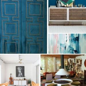 cozy modern family room inspiration