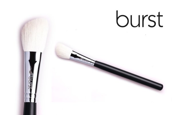 Slanted Contouring Brush – White Special Goat – BL 04