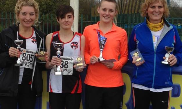 Bury AC Triumph on the Roads and on the Track and Field
