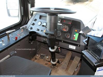 www.busdrawings.com - Edmonton - 2007 New Flyer Low Floor Trolley Coach E40LFR (CMBC #2242 on ...