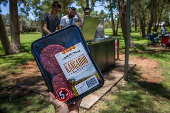 australia grill bbq burgery mięso kangur