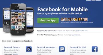 Optimisez votre page Facebook pour les mobiles