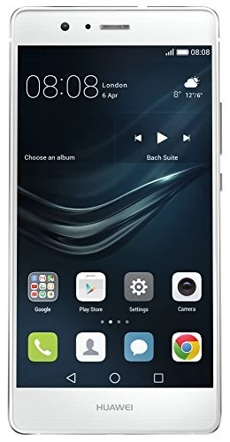 Huawei P9 lite Smartphone débloqué 4G (Ecran: 5,2 pouces – 16 Go – Android 6.0 Marshmallow) Blanc