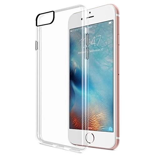 Coque Etui iPhone 7 Housse, SPARIN TPU Bumper PC Coque Housse Protection Pour iPhone 7 Etui Transparent [ Ultra Hybrid ]