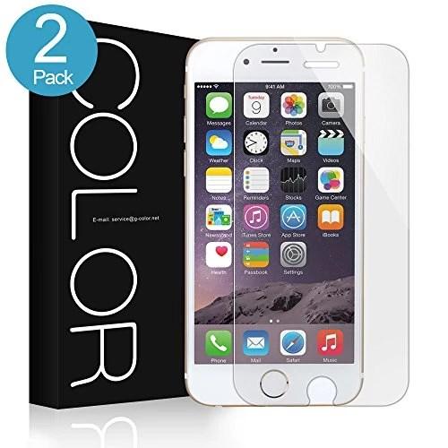 iPhone 7 Protection écran,G-Color film en verre trempé [0.2mm,2.5D][sans bulle d'air] [9H dureté] [anti-rayure],applicable à Apple iPhone 7 (1 Pack)