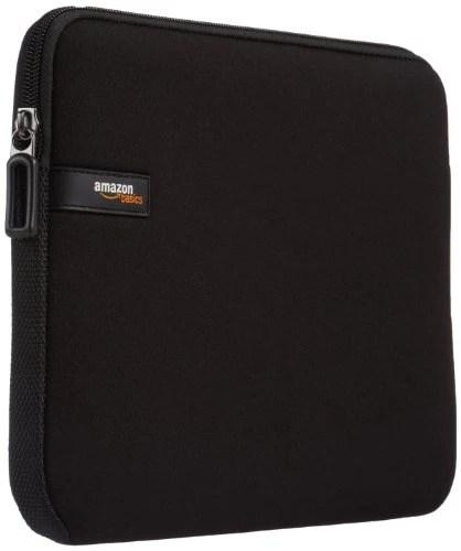 AmazonBasics Housse en néoprène pour tablette iPad Air – 10″ – Noir