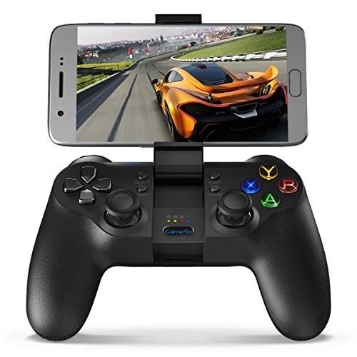 GameSir T1 Manette de Jeu Bluetooth sans Fil, Android Gamepad, PC Contrôleur de Jeu USB Filaire, Contrôleur PS3